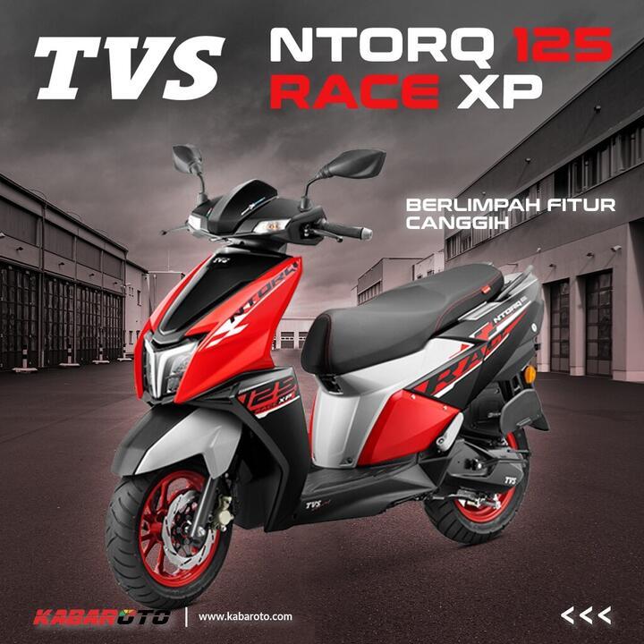 TVS Ntorq 125 Race XP Dibanderol Rp16 Jutaan, Berlimpah Fitur Canggih