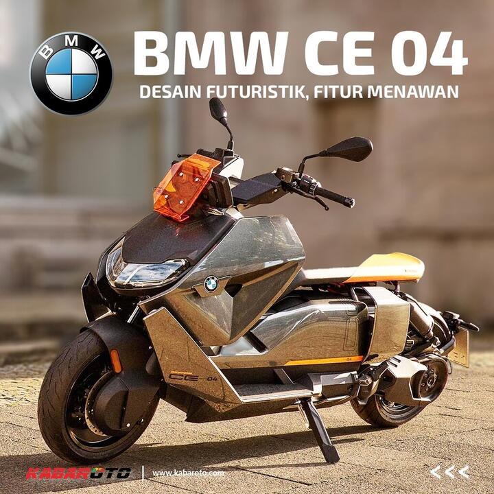 BMW CE 04, Konsumen Sudah Bisa Beli Rp 175 Jutaan