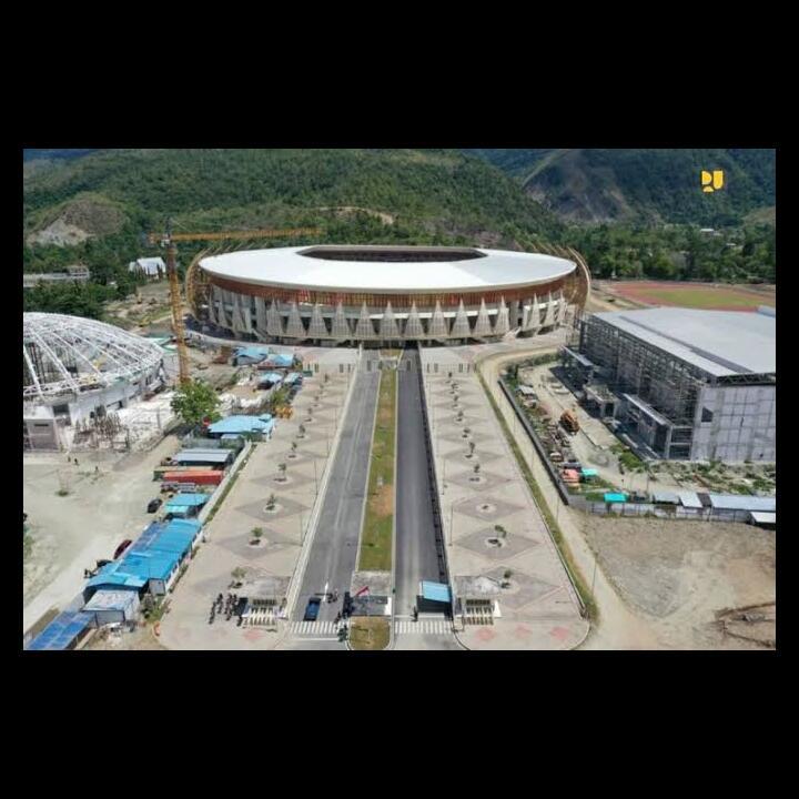 Stadion Lukas Enembe, Venue Utama PON XX Papua 2021