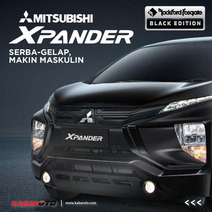 Profil Mitsubishi Xpander Rockford Fosgate Black Edition
