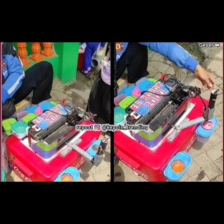 Printer Bekas Jadi Robot Pembuat Es? Di Tangan Warga +62 Hal Tersebut Tidak Mustahil
