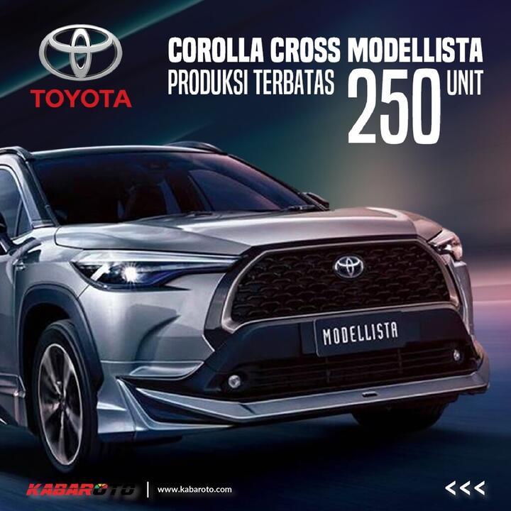 Toyota Corolla Cross Polesan Modellista, Hilangkan Kesan Crossover