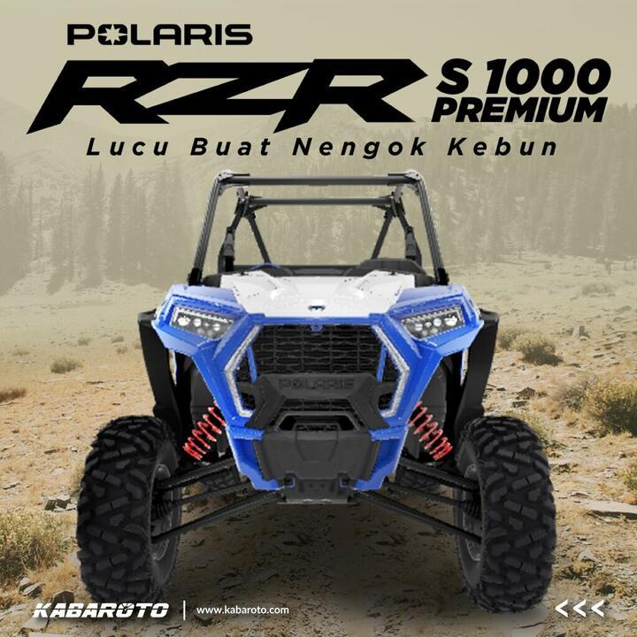 Polaris RZR S 1000 Premium, Buat Menengok Kebun