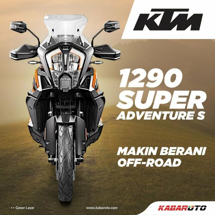 KTM 1290 Super Adventure S, Makin Berani Main Offroad
