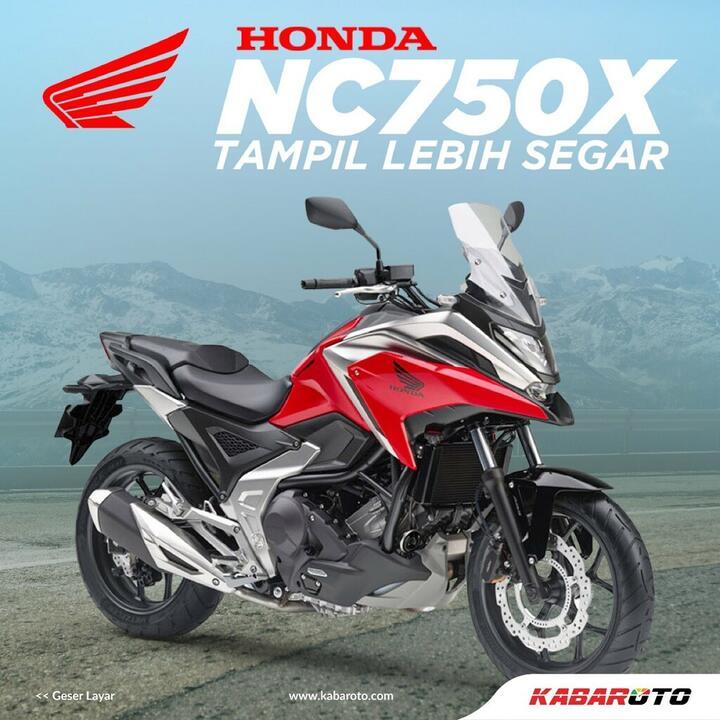 Honda NC750X, Pamer Kian Lincah