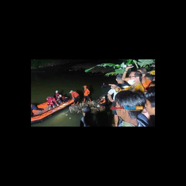 Innalillahi, 11 Siswa MTs di Ciamis Tewas Tenggelam ketika Susur Sungai