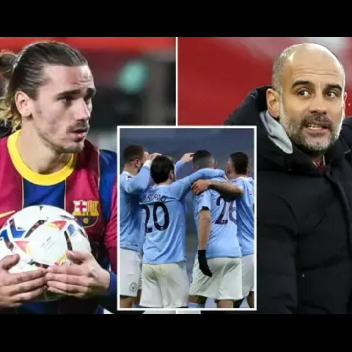 Barcelona Pengen Tuker Griezmann dengan Empat Pemain Man City, Gak Kurang Banyak?