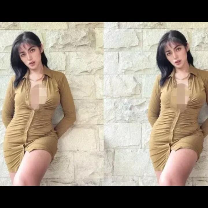 Jessica Iskandar Buka 4 Kancing Baju, Nasib Calon Suaminya Disinggung