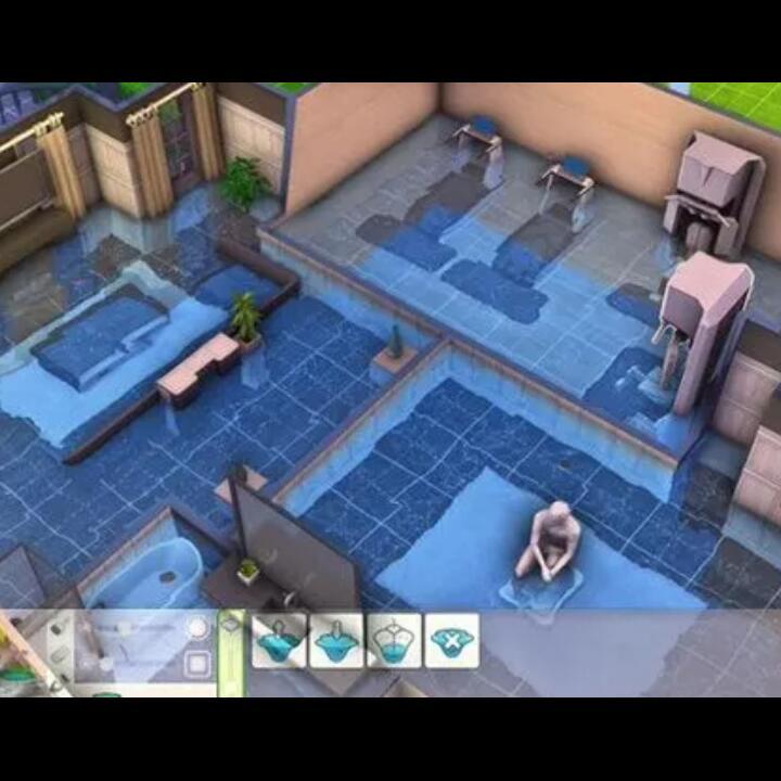 Unik & Kreatif, Gamer Membangun Rumah Bergaya Banjir di The Sims 4