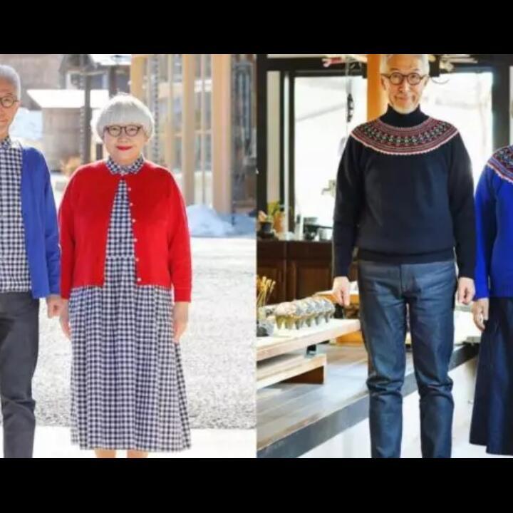Pasangan Jepang Super Gemesh yang Selalu Gunakan Baju Couple!