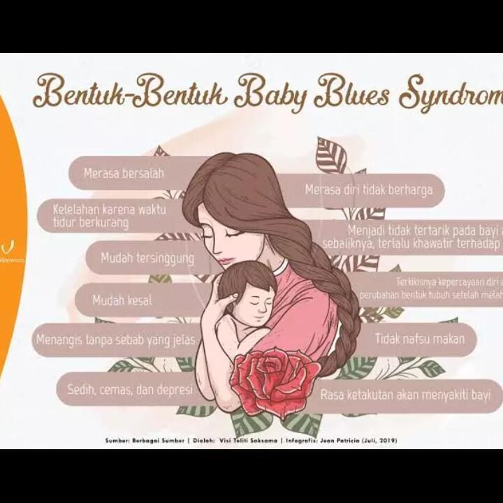 Stress Pasca Melahirkan. Bisa Jadi Itu Baby Blues Syndrome!