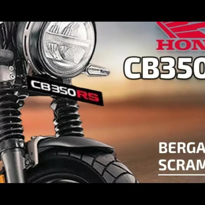 Honda CB350RS, Varian Scrambler Yang Ditunggu