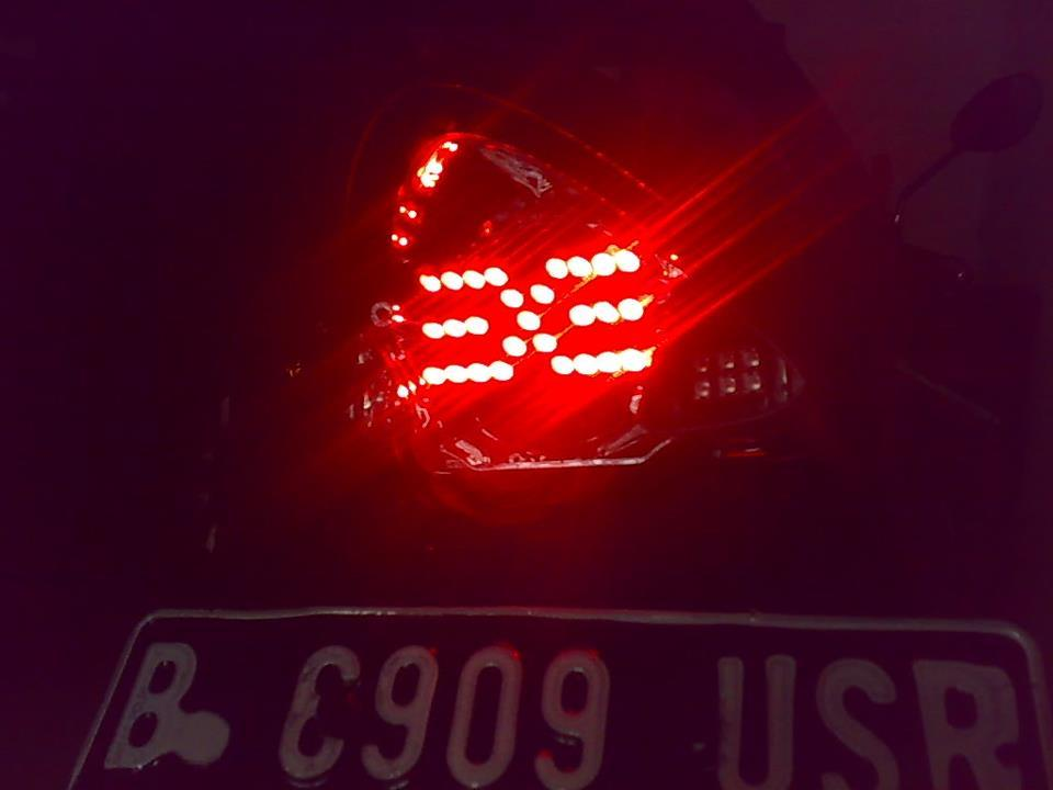 Custom LED Stoplamp for Satria Fu 150