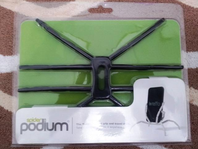 Mini Fling Joystick & SpiderPodium & Capdase Samsung Galaxy SII i9100