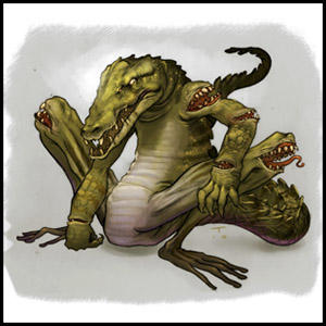 Dunia Makhluk Mitologi (Reptile Edition)