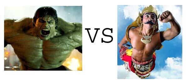 THE AVENGERS VS AVENGERS ( INDONESIA )