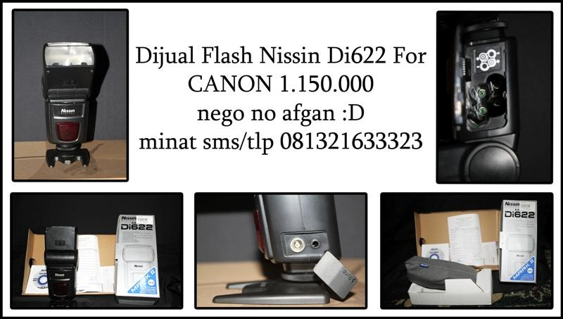 jual flash nissin Di622 mark II for canon