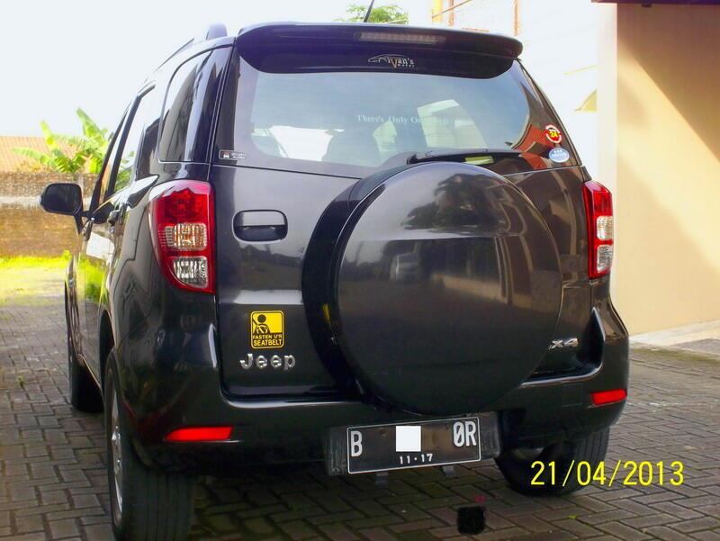Jual Toyota Rush Built Up Japan 06 - 07