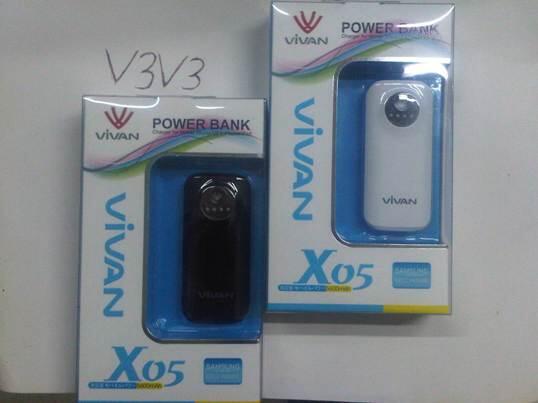 [V3V3] Power bank Vivan 5600 mAh