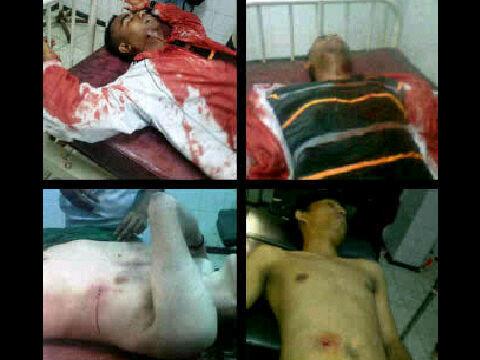 Penembakan Tadi Malam (6/6/2012) di Jayapura