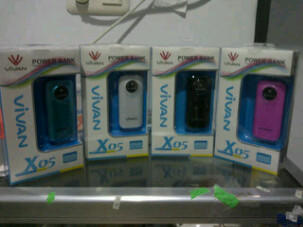 Power Bank Charger Portable untuk Charge BlackBerry, iPhone, iPod, GPS dan PSP