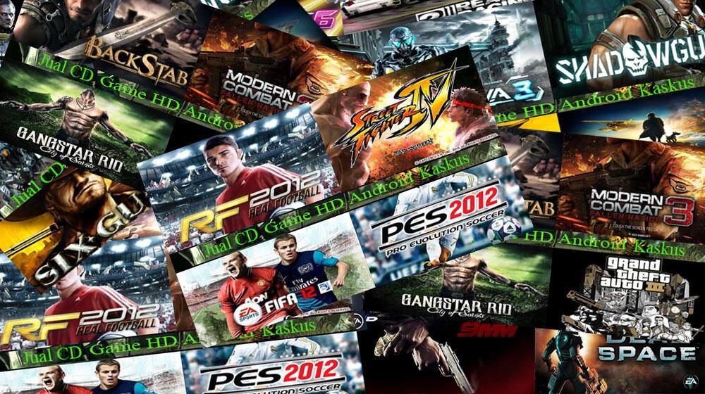 Jual DVD Game Android HVGA ( Mini/Mini Pro,LWW,Active etc.) Update !!! DKI Jakarta