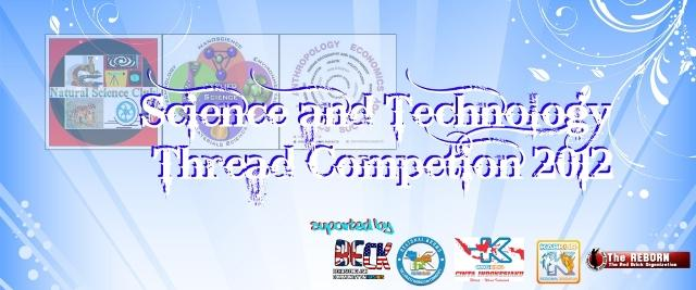 »»» Science & Techno Thread Competition 2012 «««