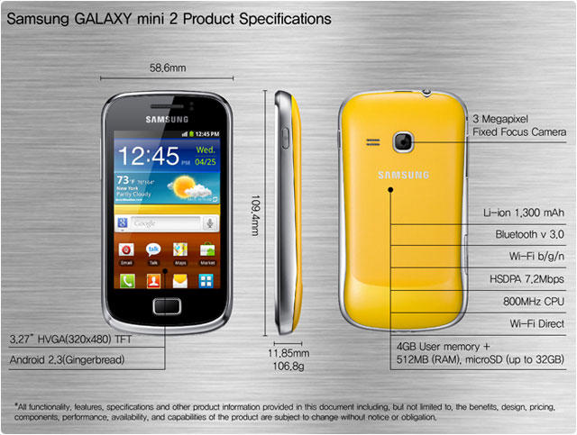 [OFFICIAL lounge JENA] Samsung galaxy Mini 2 S6500/6500D