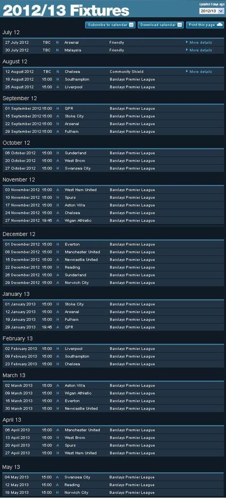 Manchester City F.C.   BLUEMOON RISING   CITIZEN KASKUS   Season 2012/2013