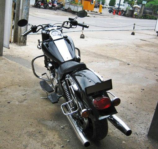 Motor Kaisar Ruby Modifikasi Harley Davidson Road King