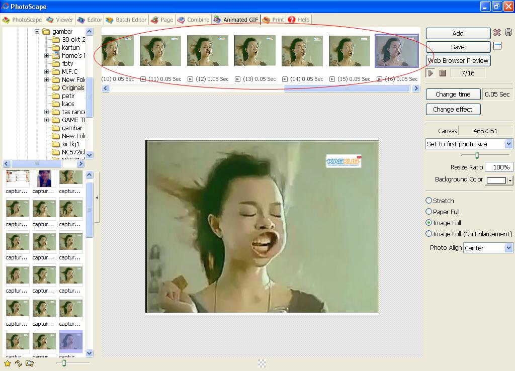 cara membuat avatar dari video yang agan suka. amatiran juga bakal bisa