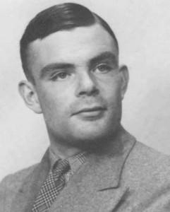 Arti lambang google : Alan Turing's 100th birthday