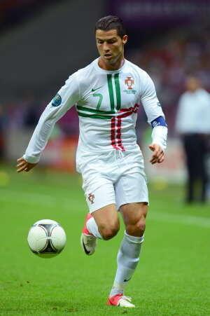 Model Rambut Christiano Ronaldo di Piala Eropa 2012