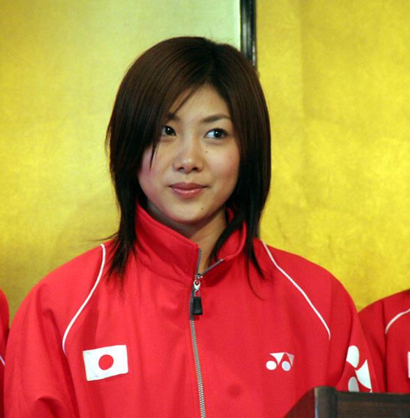 si Cantik Pebulutangkis Reiko Shiota dari Jepang