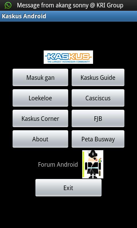 Kaskus untuk Android