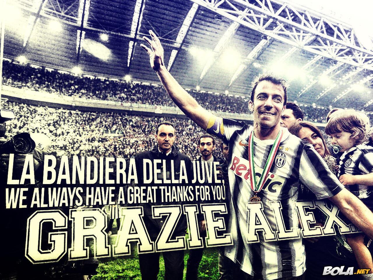 Legenda Hidup Juventus & Italia ALESSANDRO DEL PIERO