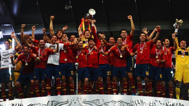 Spanyol Kampiun Euro 2012