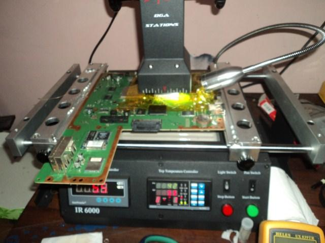 Promo Service Reballing YLOD PS3, Red Ring XBOX, Wii, dan Laptop GPU/CPU