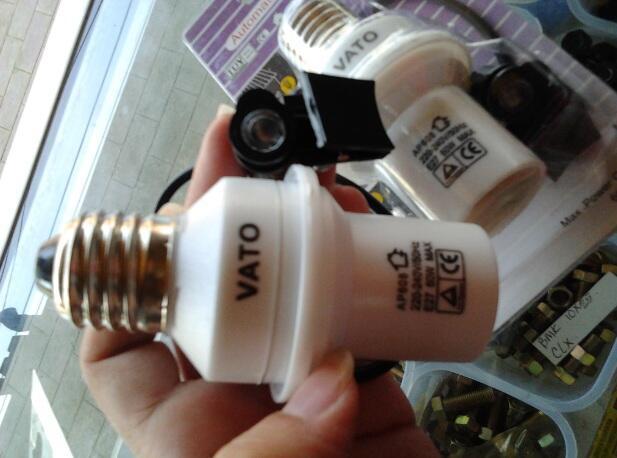 24 Ribu!! Fitting Otomatis Sensor Cahaya (Siang otomatis mati, Malam otomatis nyala)