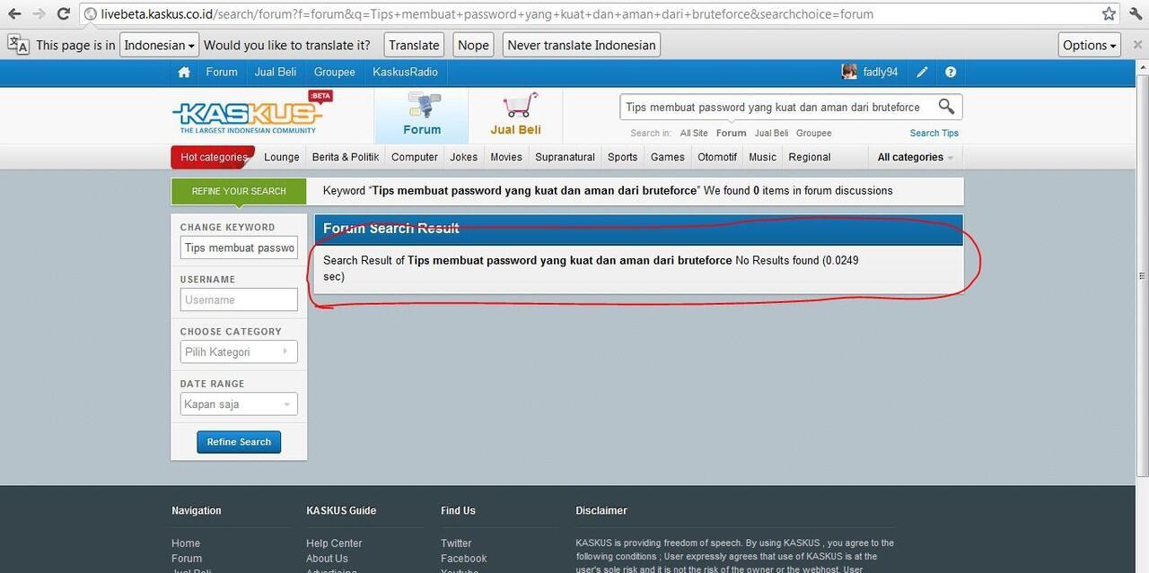 Tips Membuat Password yang Kuat dan Aman dari bruteforce!