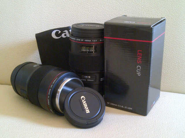 barang unik Gelas lensa Canon