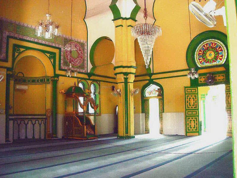 Mesjid Kuning, mesjid pertama dan tertua peninggalan budaya Melayu Deli