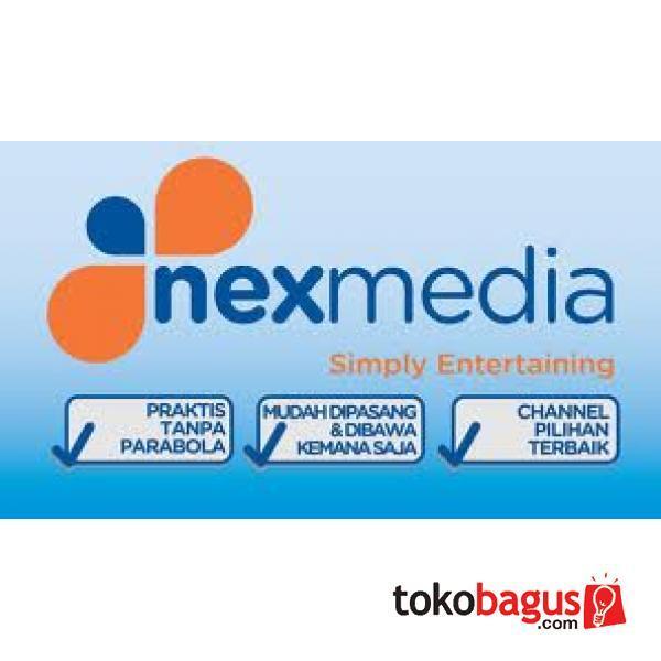 Nexmedia TV berlangganan tanpa PARABOLA
