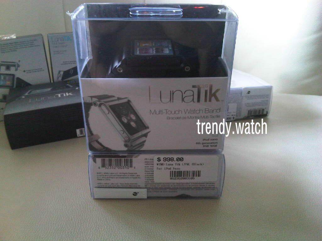 Obal Termurah Jam Tangan LUNATIK,LYNK, IWATCHZ ELEMENTAL FOR IPOD NANO 6GEN 200rb an