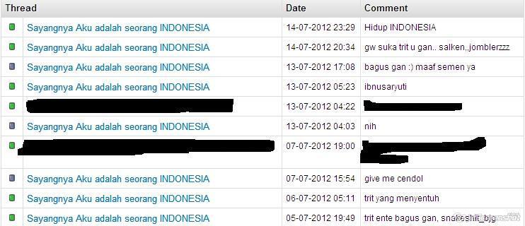 Sayangnya Aku adalah seorang INDONESIA