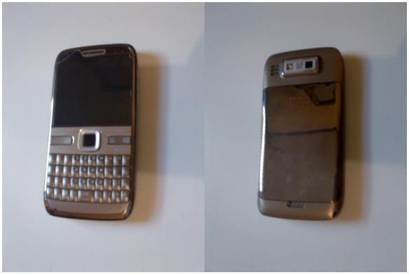 Nokia E72 Brown [Bandung]