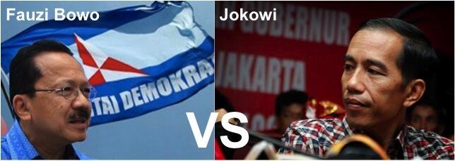[POLL] Jokowi vs Fauzi Bowo.