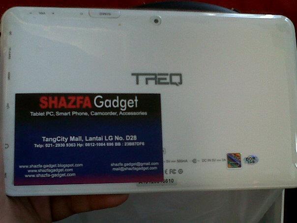 TREQ a10g duo shazfa gadget jual macam2 tablet pc