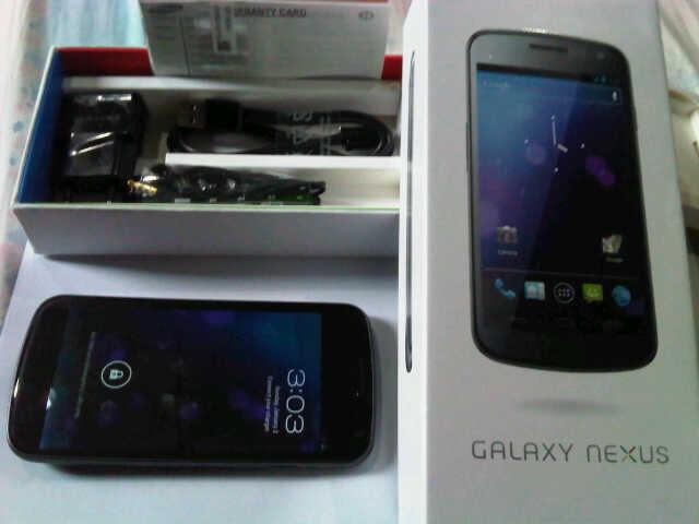 WTS Galaxy Nexus GT-I9250 dijual cepat (surabaya)