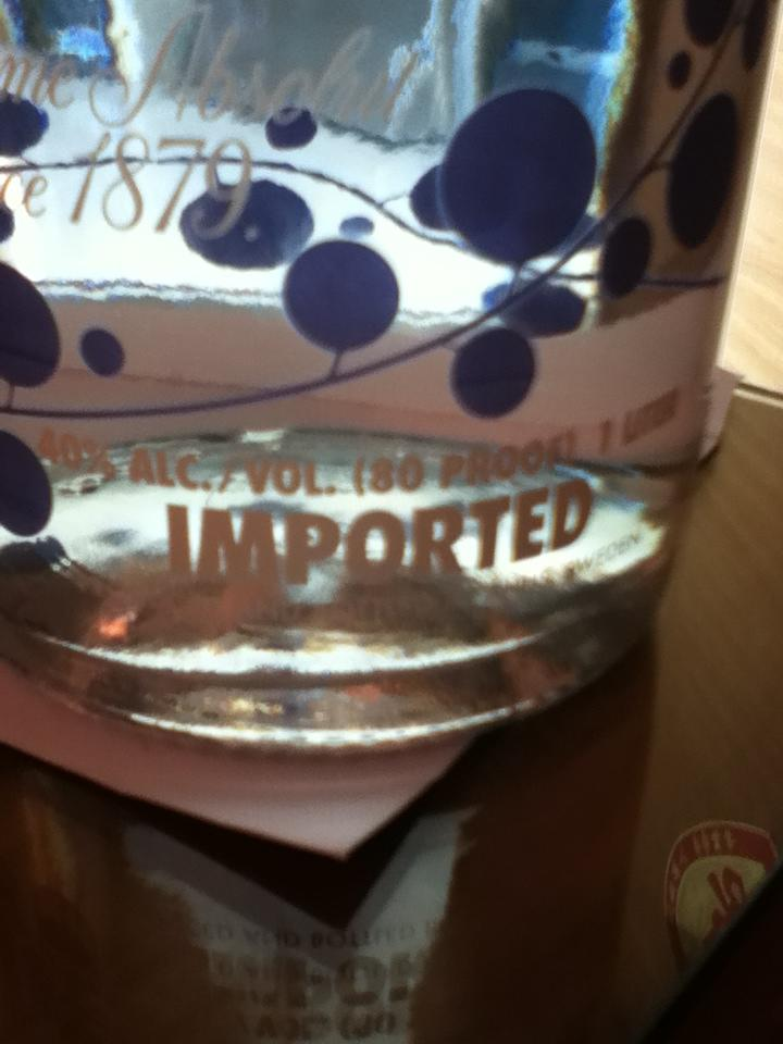 Absolut Berriacai 1 Liter
